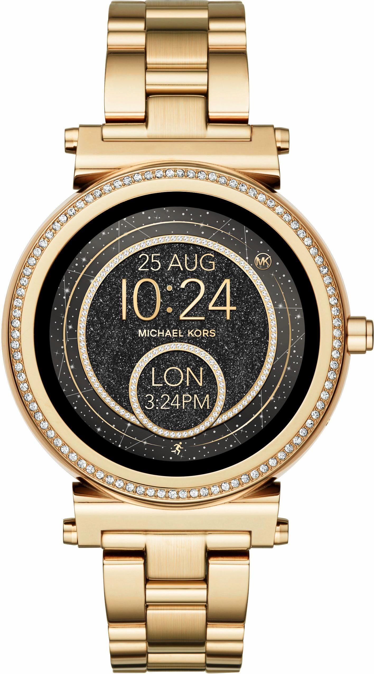 MICHAEL KORS ACCESS SOFIE, MKT5021 Smartwatch (Android Wear, inkl. Dornschließe für Wechselband)
