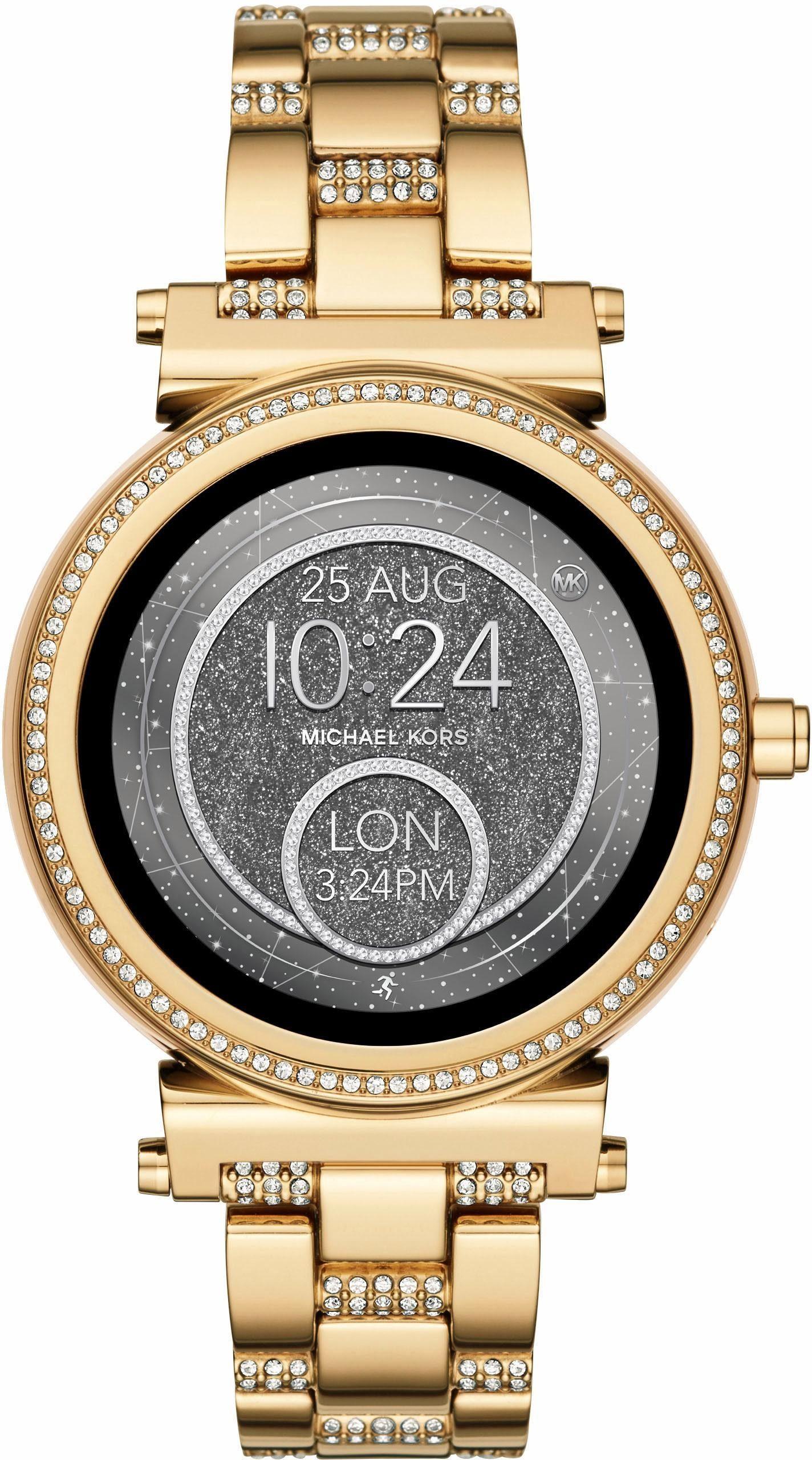 MICHAEL KORS ACCESS SOFIE, MKT5023 Smartwatch (Android Wear, inkl. Dornschließe für Wechselband)