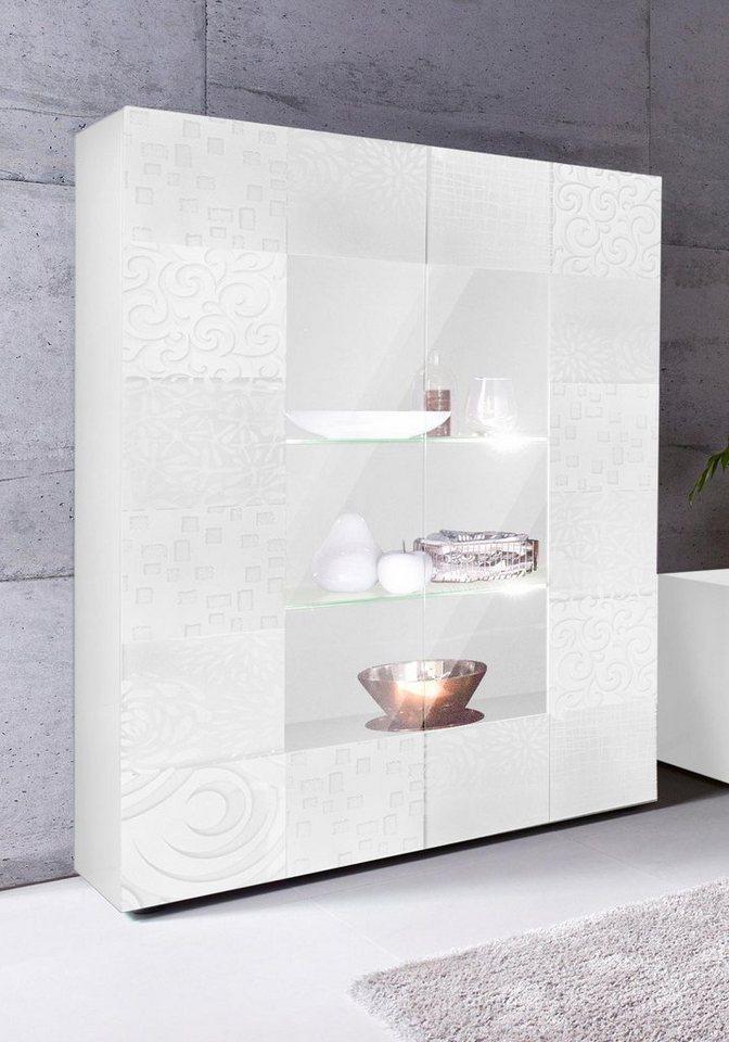 otto vitrine wei hochglanz latest eckvitrine weiss. Black Bedroom Furniture Sets. Home Design Ideas