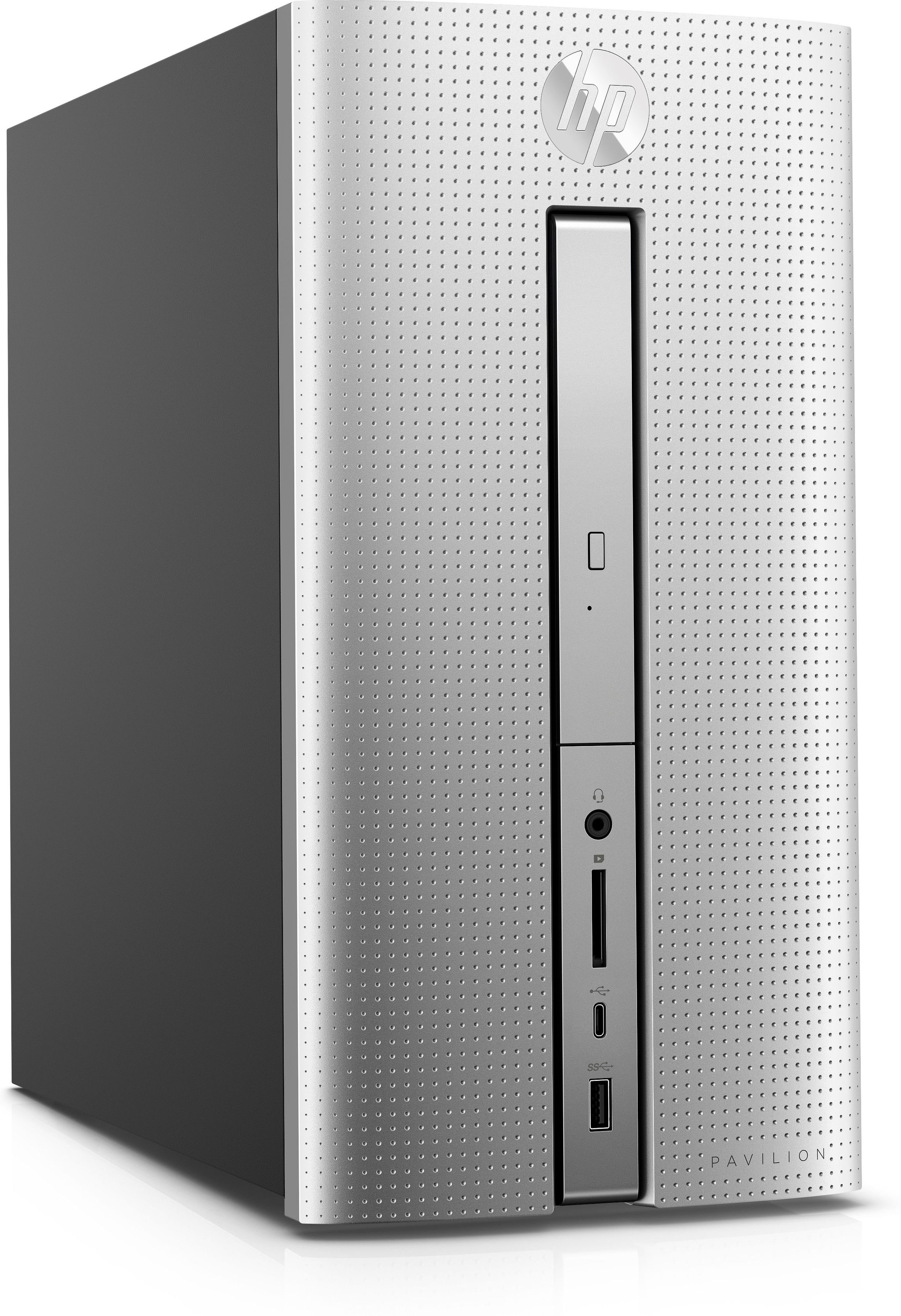 HP Pavilion 570-p581ng Desktop PC »Intel Core i5, 128 GB + 1 TB, 8 GB«