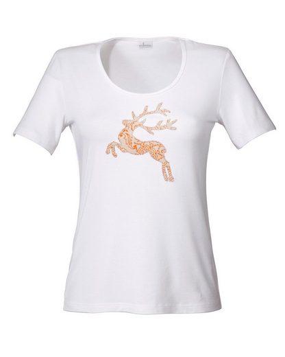 Wallmann Shirt mit Hirsch