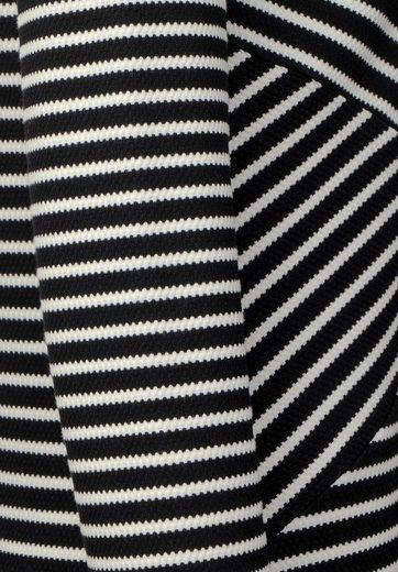 Street One Schwarz-Weißes Jerseykleid