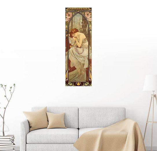 Posterlounge Wandbild - Alfons Mucha »Repos De La Nuit - Die Nacht, Serie Tageszeiten«