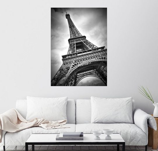 Posterlounge Wandbild - Melanie Viola »Eiffelturm PARIS III«