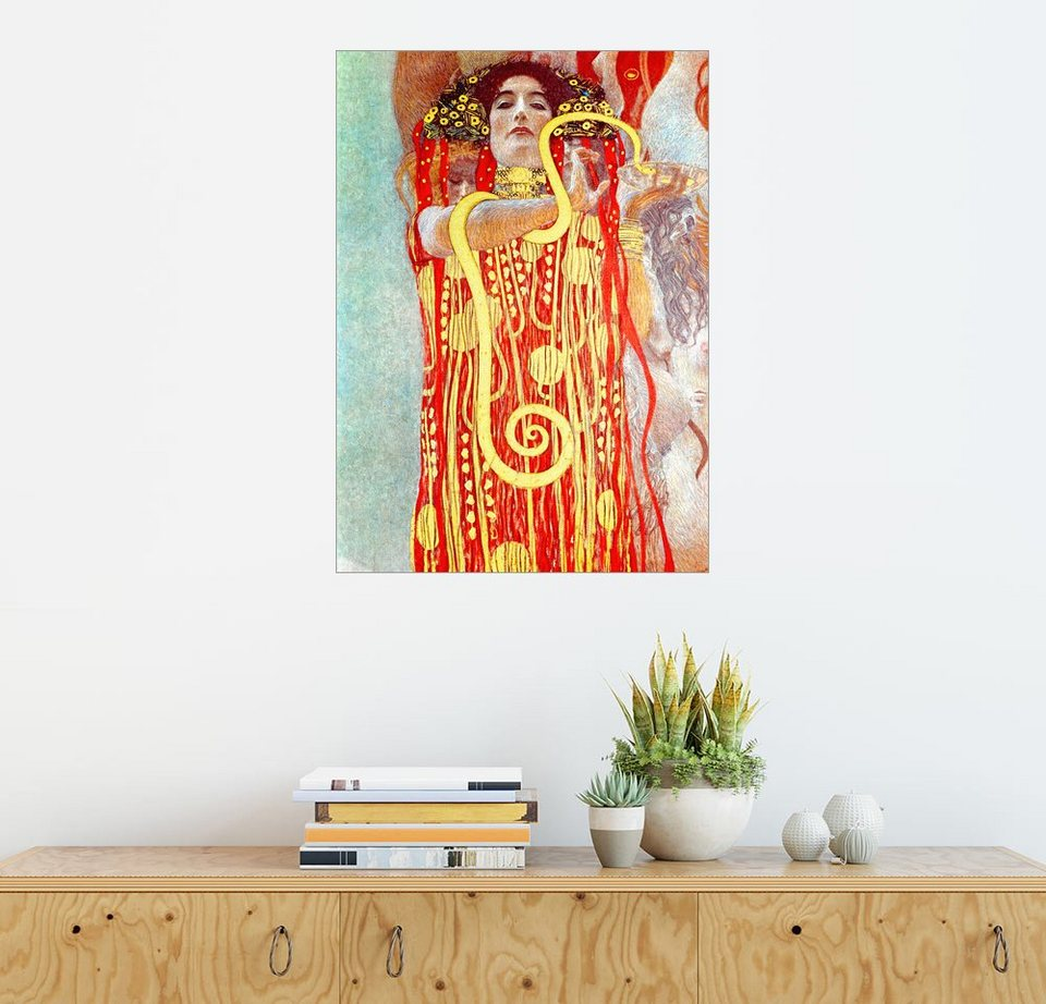 posterlounge wandbild gustav klimt hygieia detail aus der medizin online kaufen otto. Black Bedroom Furniture Sets. Home Design Ideas