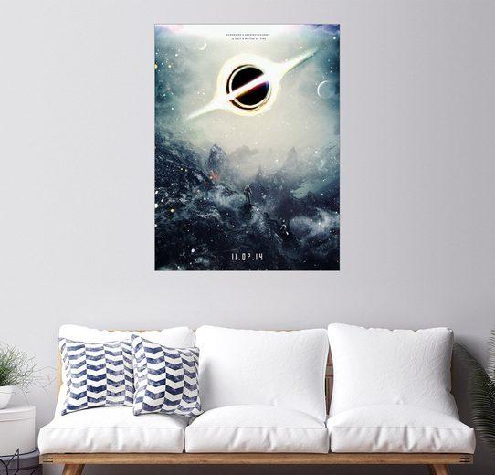 Posterlounge Wandbild - Barrett Biggers »Interstellar«