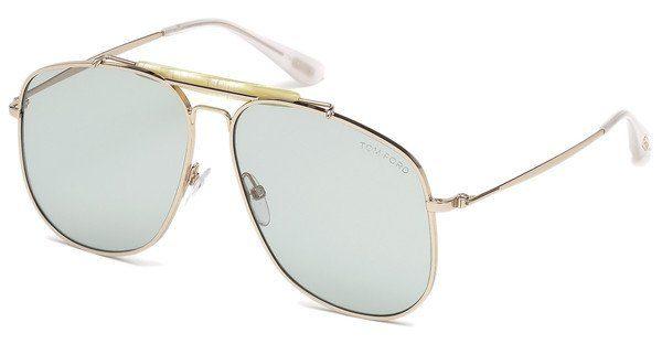 Tom Ford Herren Sonnenbrille » FT0557«, schwarz, 01A - schwarz/grau
