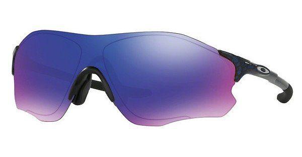 Oakley Herren Sonnenbrille »EVZERO PATH (A) OO9313«, schwarz, 931302 - schwarz/rot