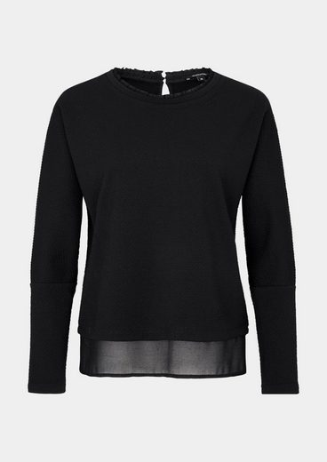 Comma Grip Longsleeve With Frill Adornment