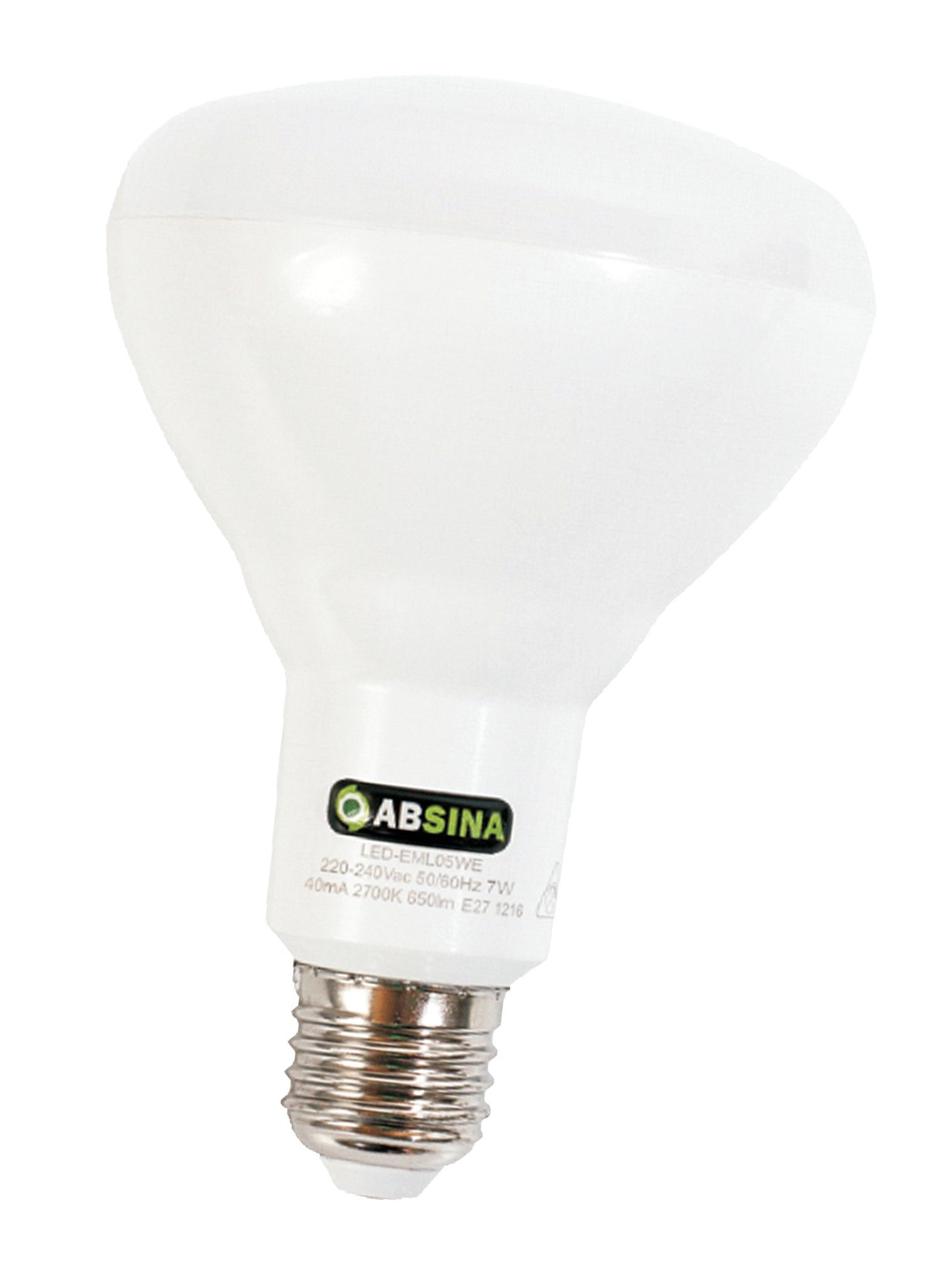 ABSINA Energiespar LED mit Notbeleuchtung bei Stromausfall in A-Form »DUO light 2«