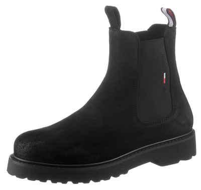 Tommy Jeans »SUEDE CHELSEA BOOT« Chelseaboots mit Stretcheinsätzen