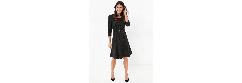 Erhalten Authentische Online Auslass Gerry Weber Kleid Gewebe 3/4 Arm Kleid mit Taillengürtel Rabatt Großer Verkauf 3eAf7xL