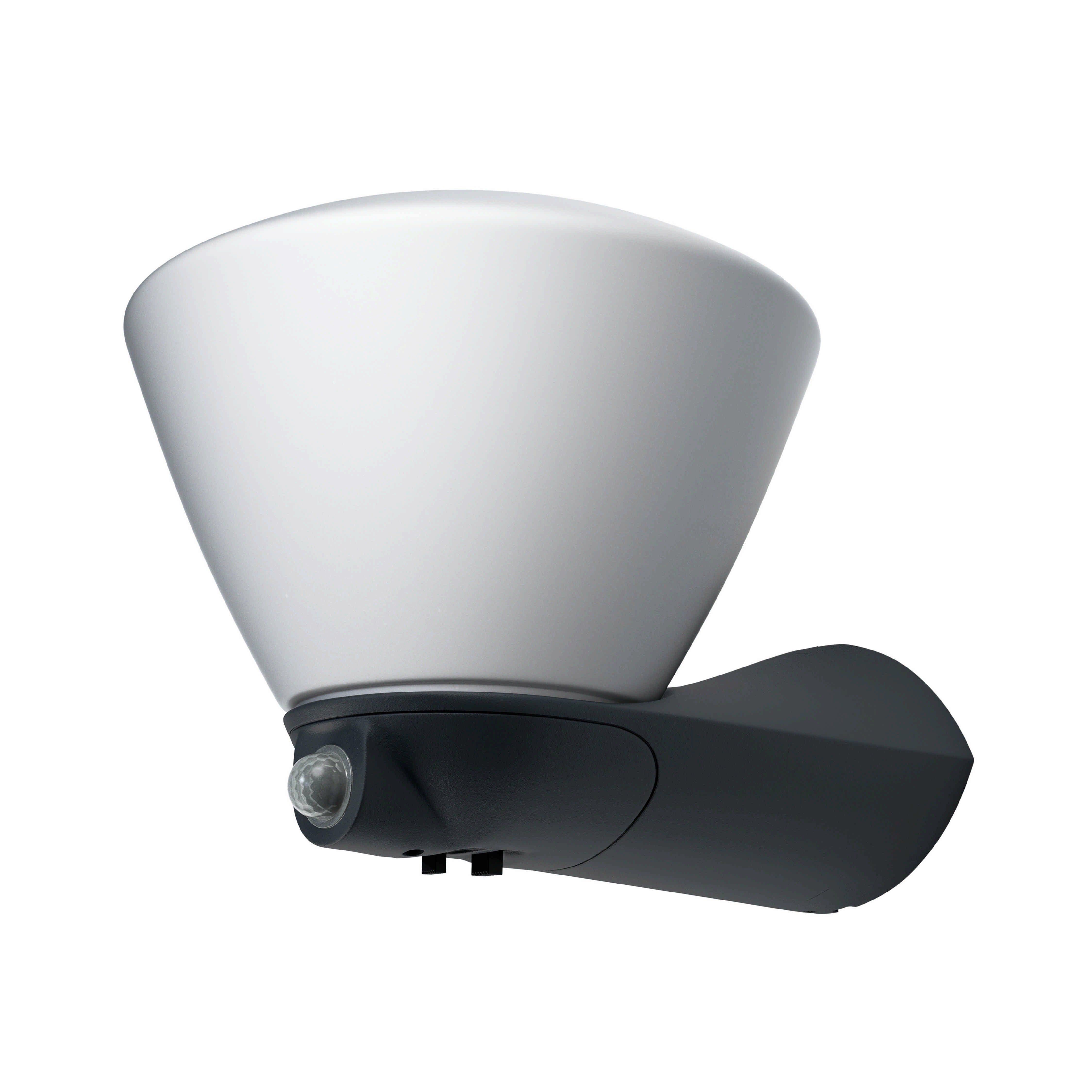 Osram LED-Wandleuchte mit integriertem Bewegungsmelder »ENDURA STYLE Lantern Bowl Sensor«