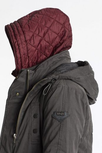 khujo Winterjacke PEYO WITH INNER JACKET, mit Kapuze