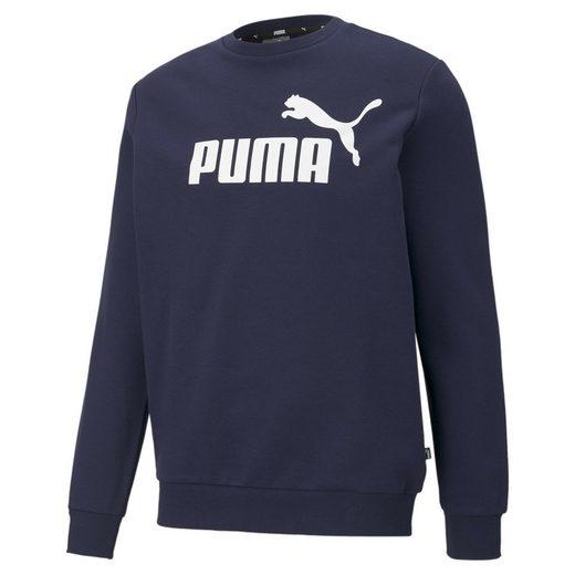 PUMA Sweater »Essentials Big Logo Herren Sweatshirt mit Rundhalsausschnitt«
