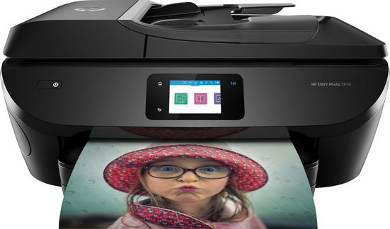 HP ENVY Photo 7830 Multifunktionsdrucker, (WLAN (Wi-Fi), inkl. Office-Anwendersoftware Microsoft 365 Single im Wert von 69 Euro)