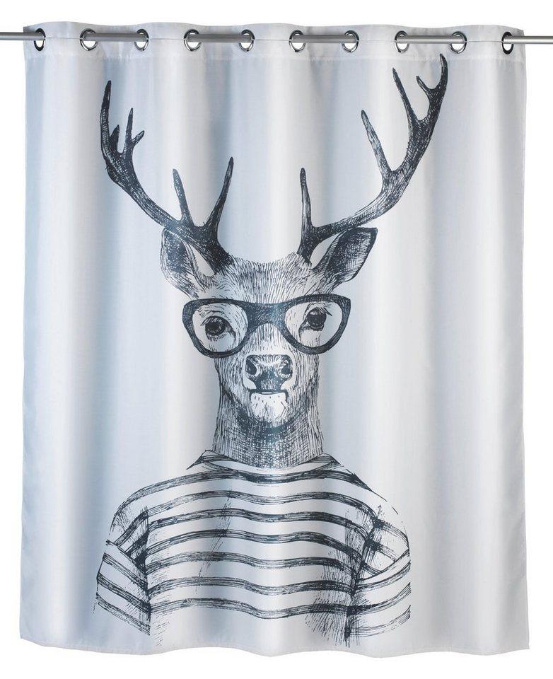 wenko anti schimmel duschvorhang mr deer kaufen otto. Black Bedroom Furniture Sets. Home Design Ideas