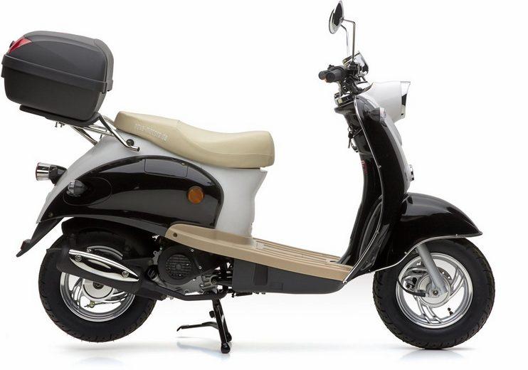 nova motors set motorroller inkl topcase 49 ccm 45 km h retro star modell 2018 online. Black Bedroom Furniture Sets. Home Design Ideas