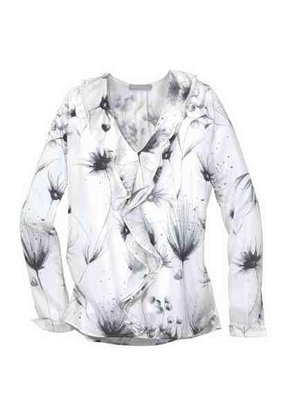GUIDO MARIA KRETSCHMER Rüschenbluse »PENCIL FLOWERS«