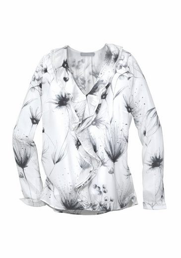 GUIDO MARIA KRETSCHMER Rüschenbluse PENCIL FLOWERS