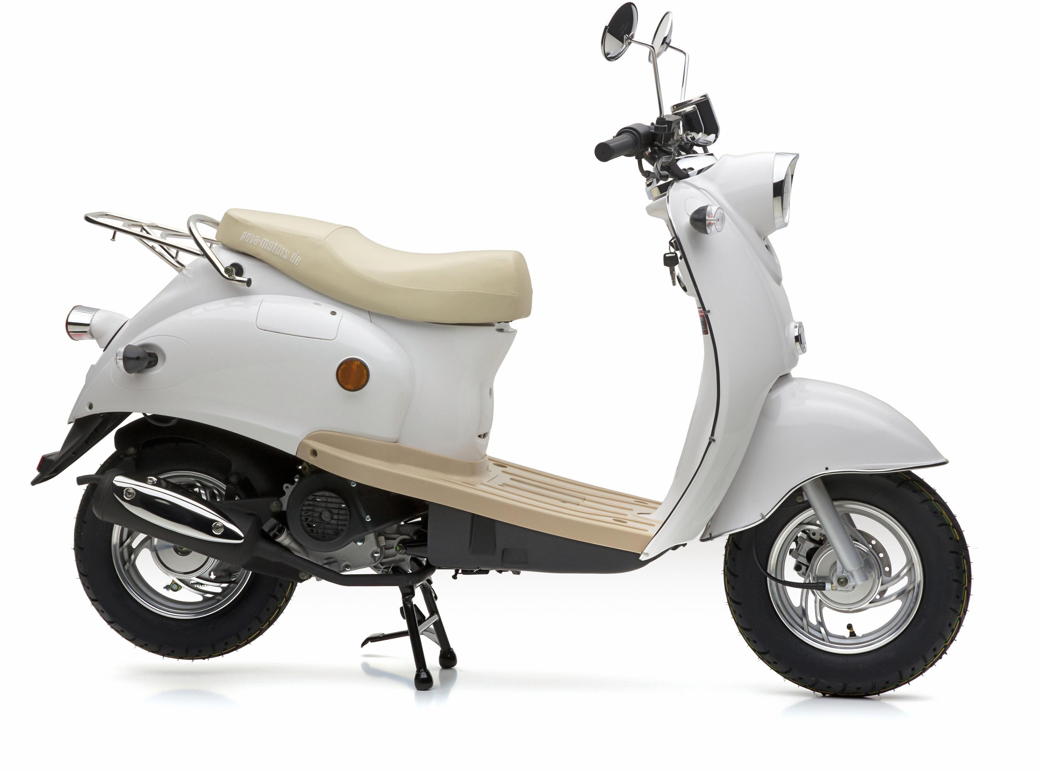 Nova Motors Mofaroller »Retro Star«, 49 ccm, 25 km/h, Euro 4, 49 ccm, 25 km/h