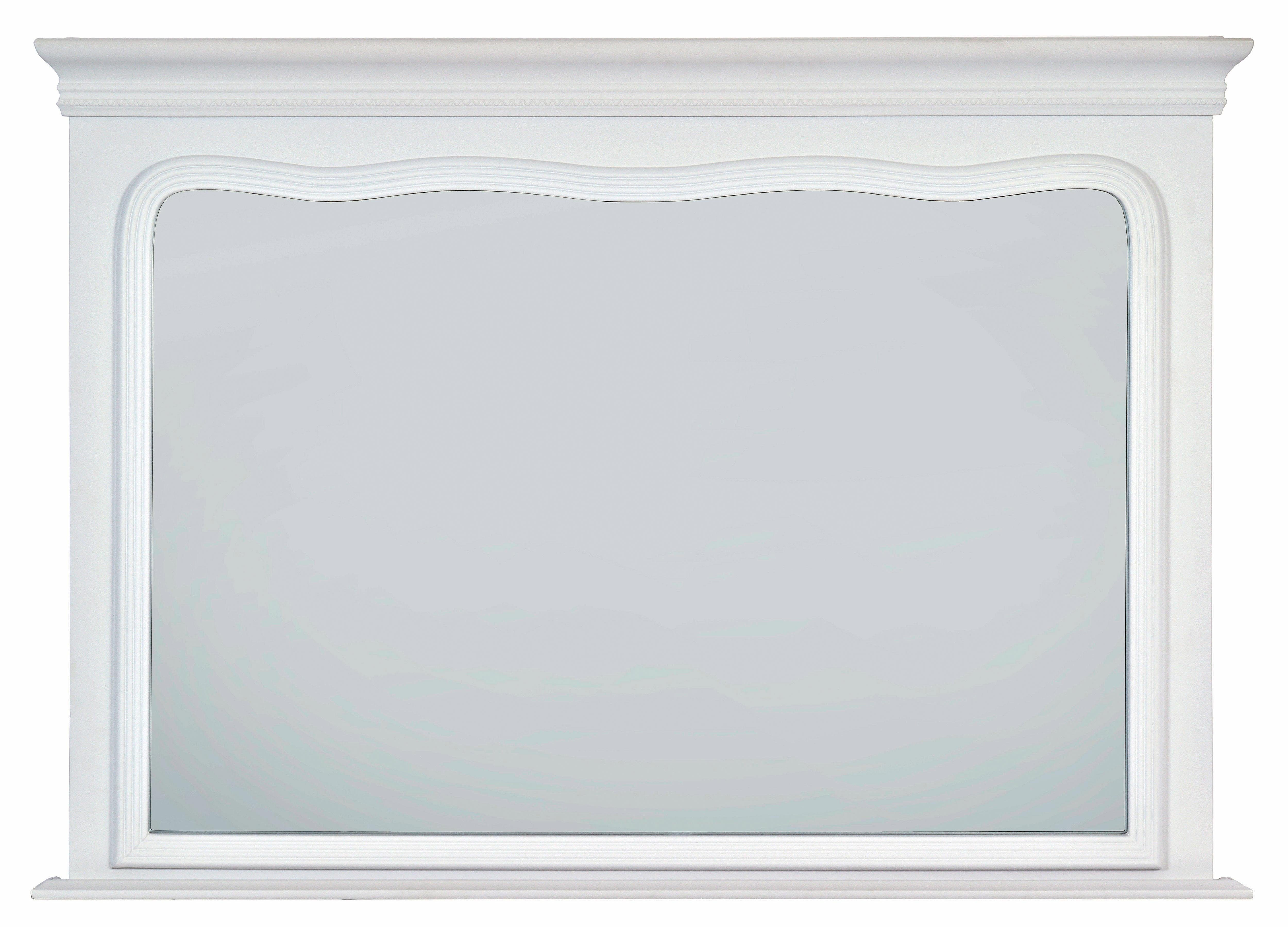 Premium Picture by Home affaire Spiegel »Hanover White Overmantel inner« 80/110 cm