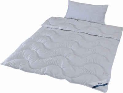 Bettdecke + Kopfkissen, »Sale«, Beco, Füllung: Klimafaser (Bettdecke), Bezug: Microfaser