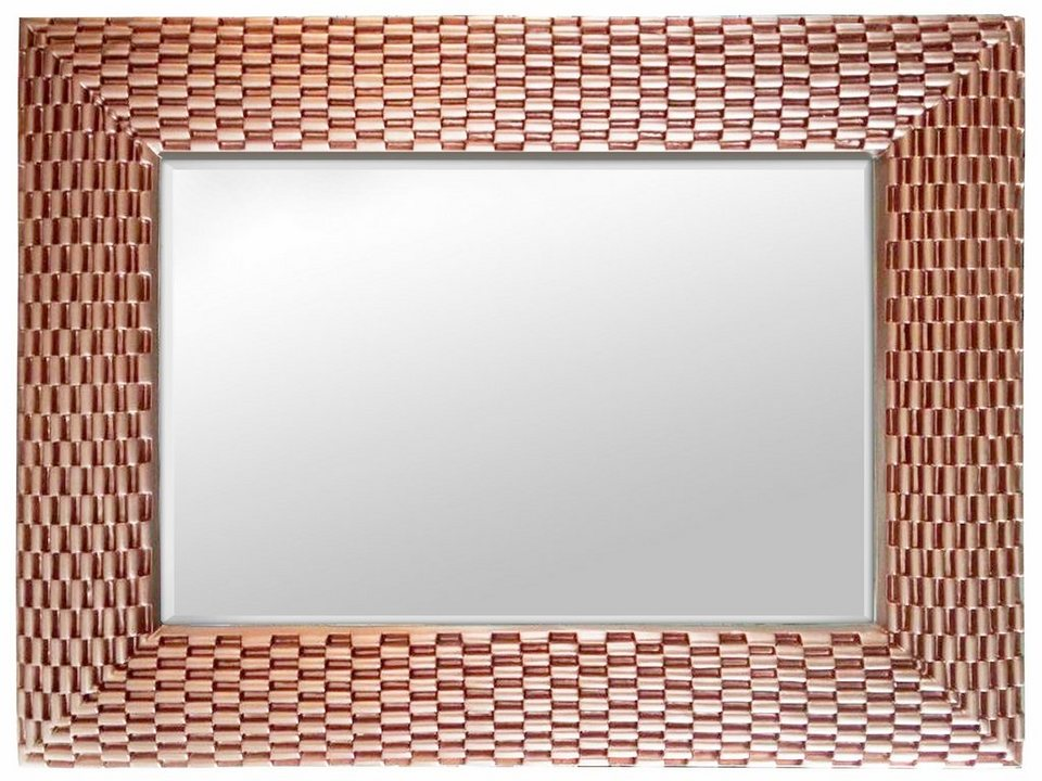 premium picture by home affaire spiegel weave rosegold