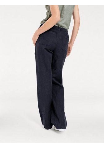HEINE CASUAL kelnės su linas