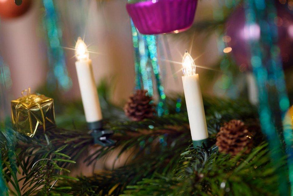 Kabellose Weihnachtsbeleuchtung Innen.Led Christbaumkerzen Multifunktion Mit Optionalem Farbwechsel Online Kaufen Otto