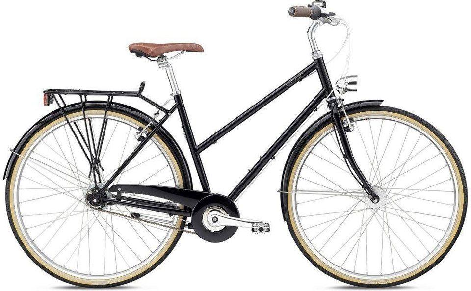 breezer bikes trekkingrad downtown 8 st 2018 8 gang. Black Bedroom Furniture Sets. Home Design Ideas