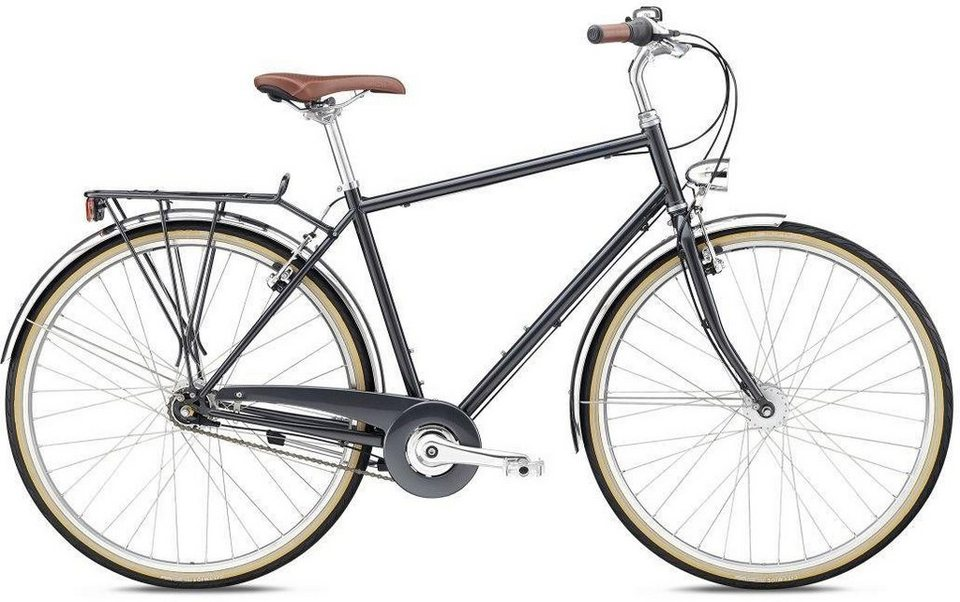 breezer bikes trekkingrad downtown 7 2018 7 gang. Black Bedroom Furniture Sets. Home Design Ideas