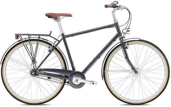 BREEZER Bikes Trekkingrad »DOWNTOWN 7+ 2018«, 7 Gang Shimano Nexus 7 Schaltwerk, Nabenschaltung
