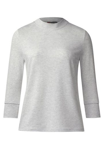 Street One Uni Turtleneck Strickshirt