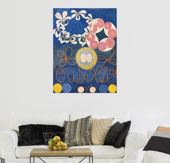 Posterlounge Wandbild - Hilma af Klint »Die zehn größten«