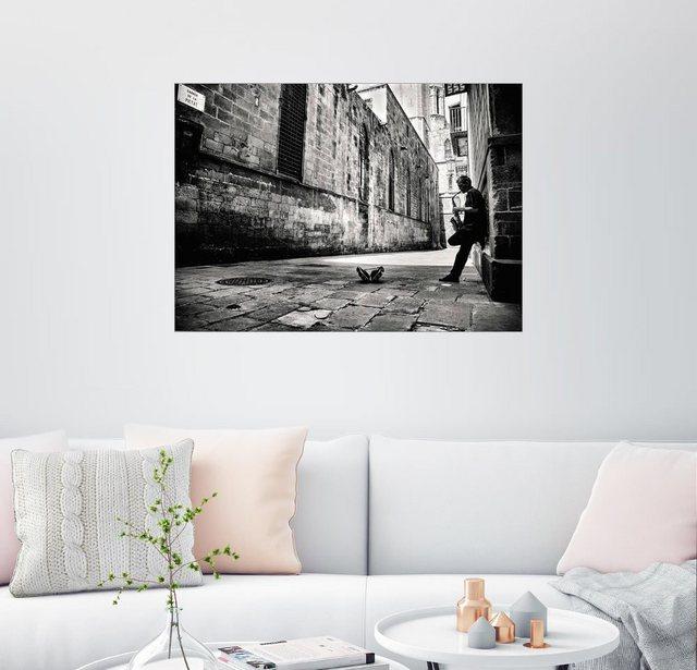 Posterlounge Wandbild GertJan van Geerenstein Ruhige Strasse