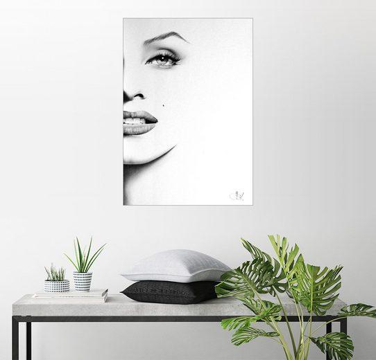 Posterlounge Wandbild - Ileana Hunter »Marilyn Monroe«
