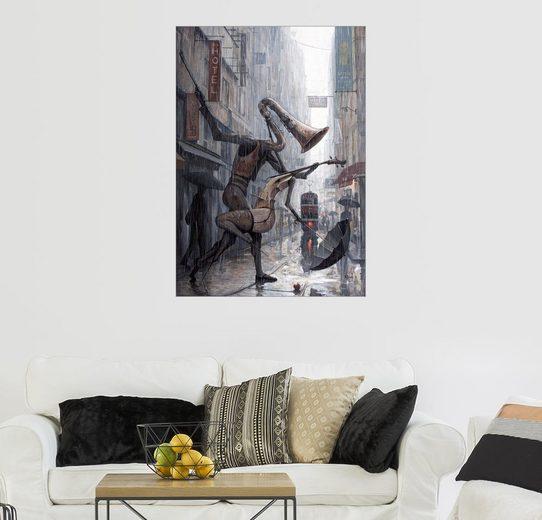 Posterlounge Wandbild - Adrian Borda »Life is a dance in the rain«