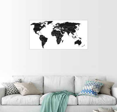 Weltkarte Bilder Poster Online Kaufen Otto