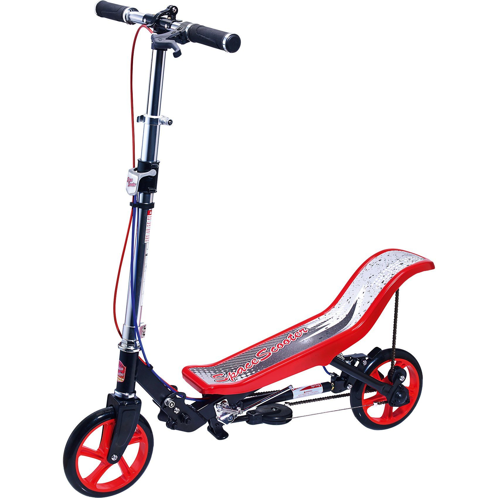 Space Scooter X 590 Deluxe, rot