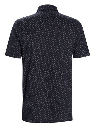 Next Polo Shirt With Small Paisley