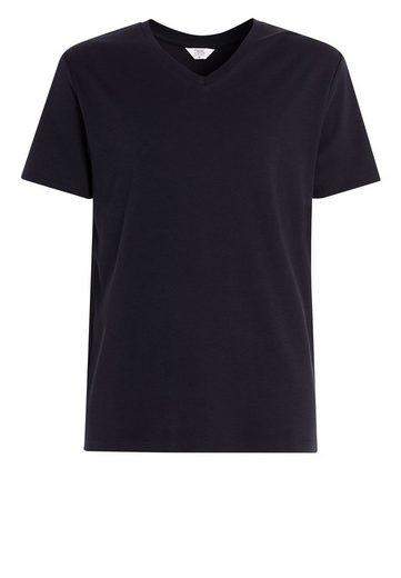 Next Hochwertiges T-Shirt mit V-Ausschnitt