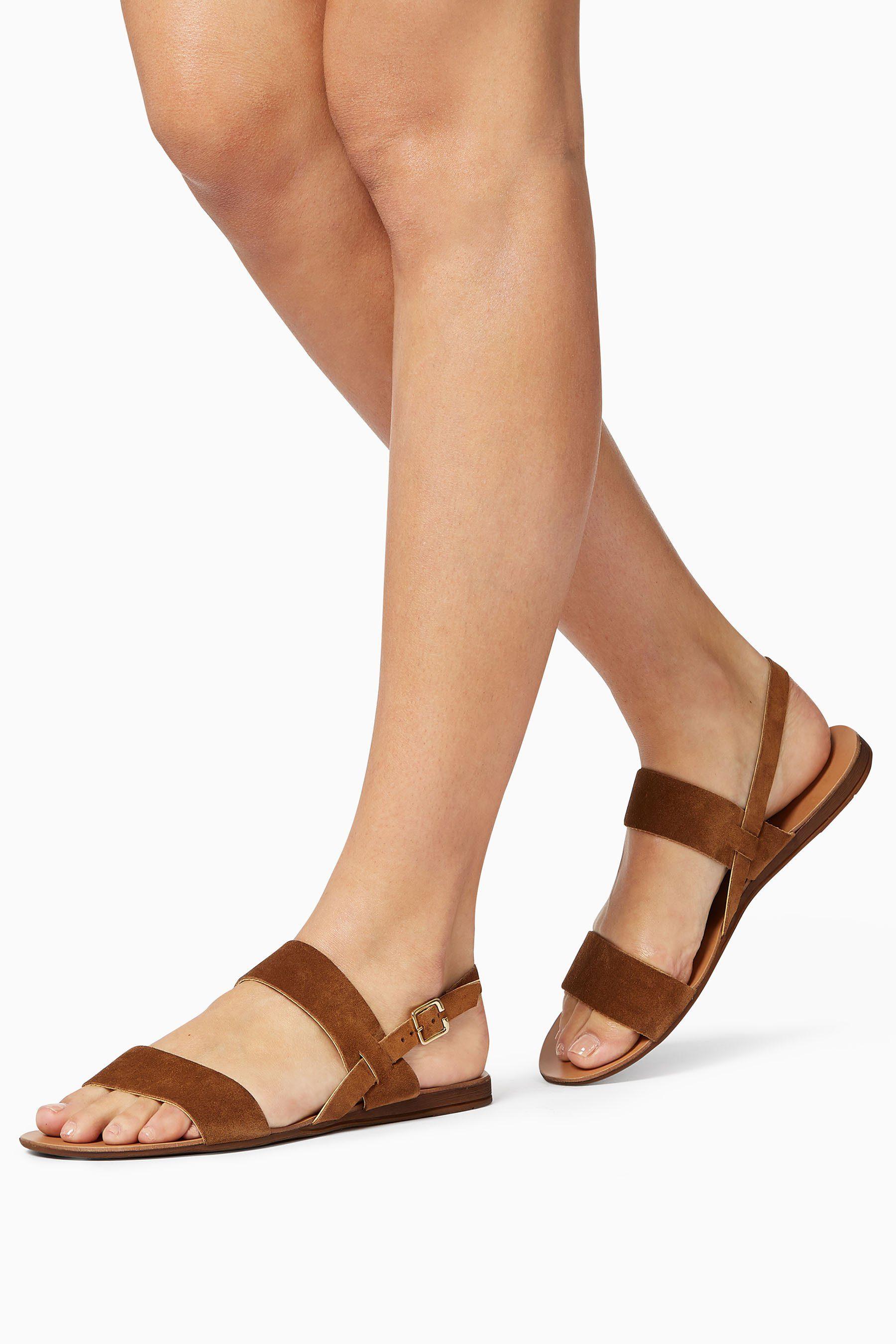 Next Sandalette mit doppeltem Knöchelriemen kaufen  Tan