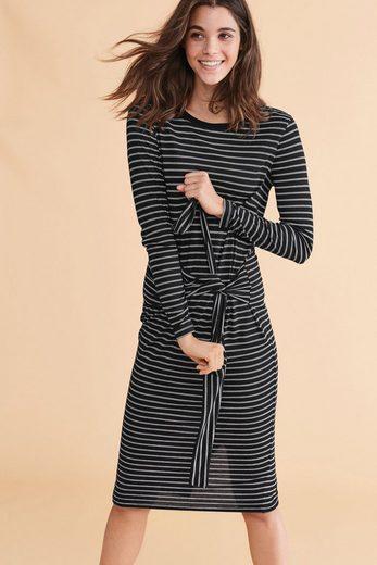 Next Kleid mit Bindegürtel