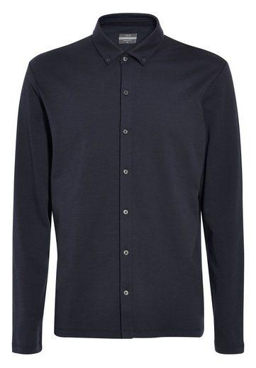 Next Hochwertiges Langarm-Jerseyhemd