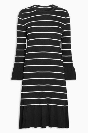 Next Kleid mit ausgestellten Ärmeln