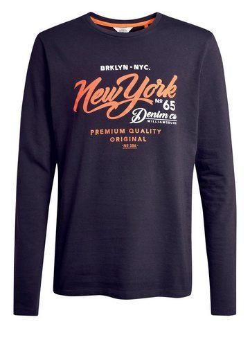 Next Langärmeliges Grafik-T-Shirt
