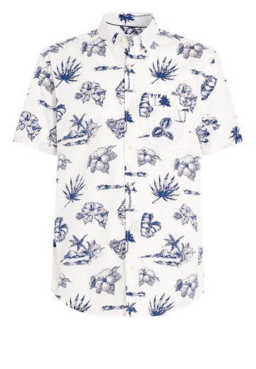 Next Kurzärmeliges Hemd mit originellem Motiv