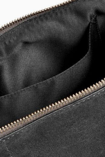 Next Leather Clutch With Zipper