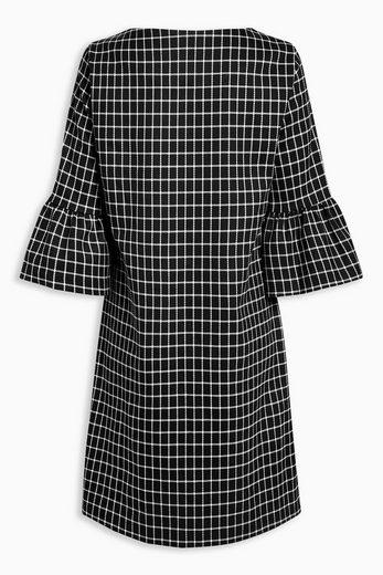 Next Kleid mit Gitterkaro